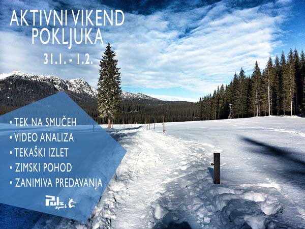 Aktivni vikend – Pokljuka – 31.1. do 1.2.2015